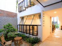 Lạc Thôn homestay - Phú Yên. Với thiết kế tối giản hòa trộn cùng hơi hướng Nhật Bản mang lại vẻ đẹp khó cưỡng