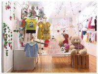 Thiết kế showroom quần áo trẻ em
