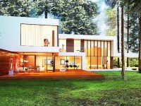 Thiết kế nhà hiện đại và tối giản