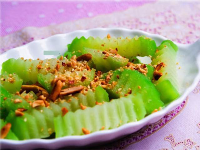 Ăn kết hợp bí đao luộc & yến mạch để giảm mỡ bụng