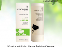 Review Sữa Rửa Mặt Living Nature Purifying Cleanser