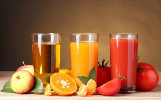 Nước ép trái cây thành phần không thể thiếu trong thực đơn giảm mỡ bụng cho nam