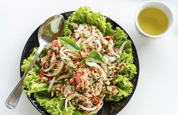 Salad sữa chua yến mạch