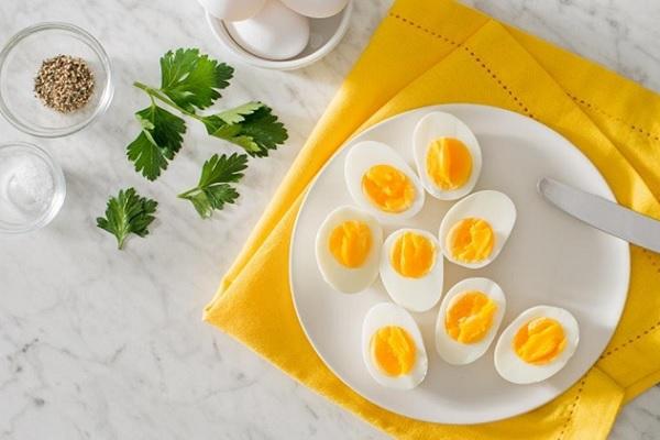 Thực đơn giảm cân với trứng trong 7 ngày