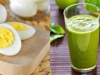 Thực đơn giảm cân bằng trứng trong 7 ngày hiệu quả